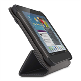 Smooth Tri-Fold Cover with Stand for Samsung Galaxy Tab 3 7.0 -$ SideView1Image