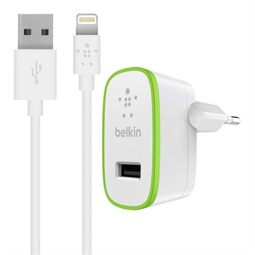 BOOST↑UP™ Home Charger with Lightning to USB ChargeSync Cable (12 watt/2.4 Amp) -$ HeroImage