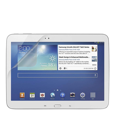 TrueClear Anti-Smudge Screen Protector for Galaxy Tab 3 10.1 -$ HeroImage