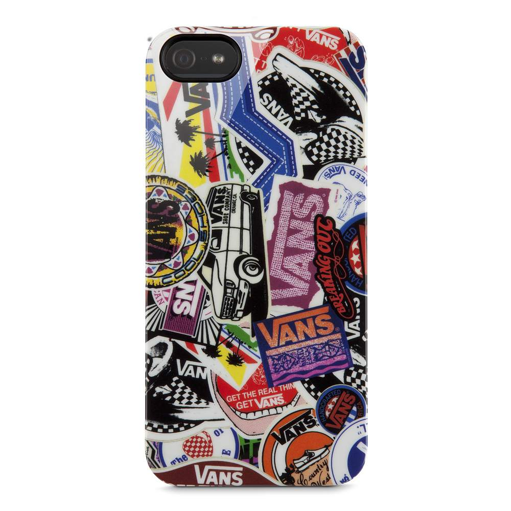 Vans Sticker Collage Case for iPhone 5 - HeroImage