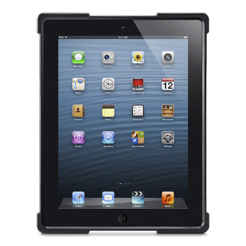 Air Shield™  Protective Case for iPad 2/3/4 - BackViewImage