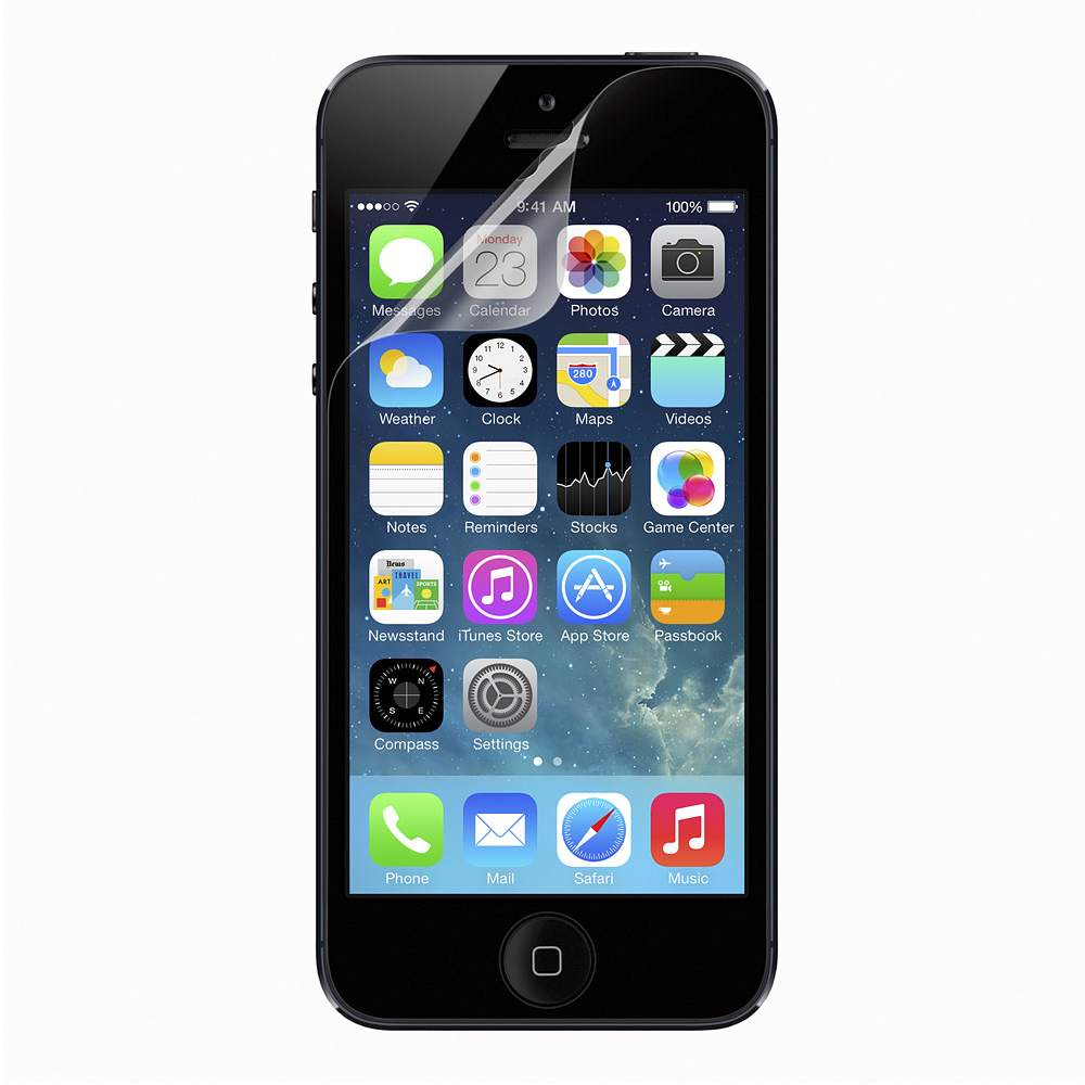 Belkin Trueclear Transparent Screen Protector For Iphone 5