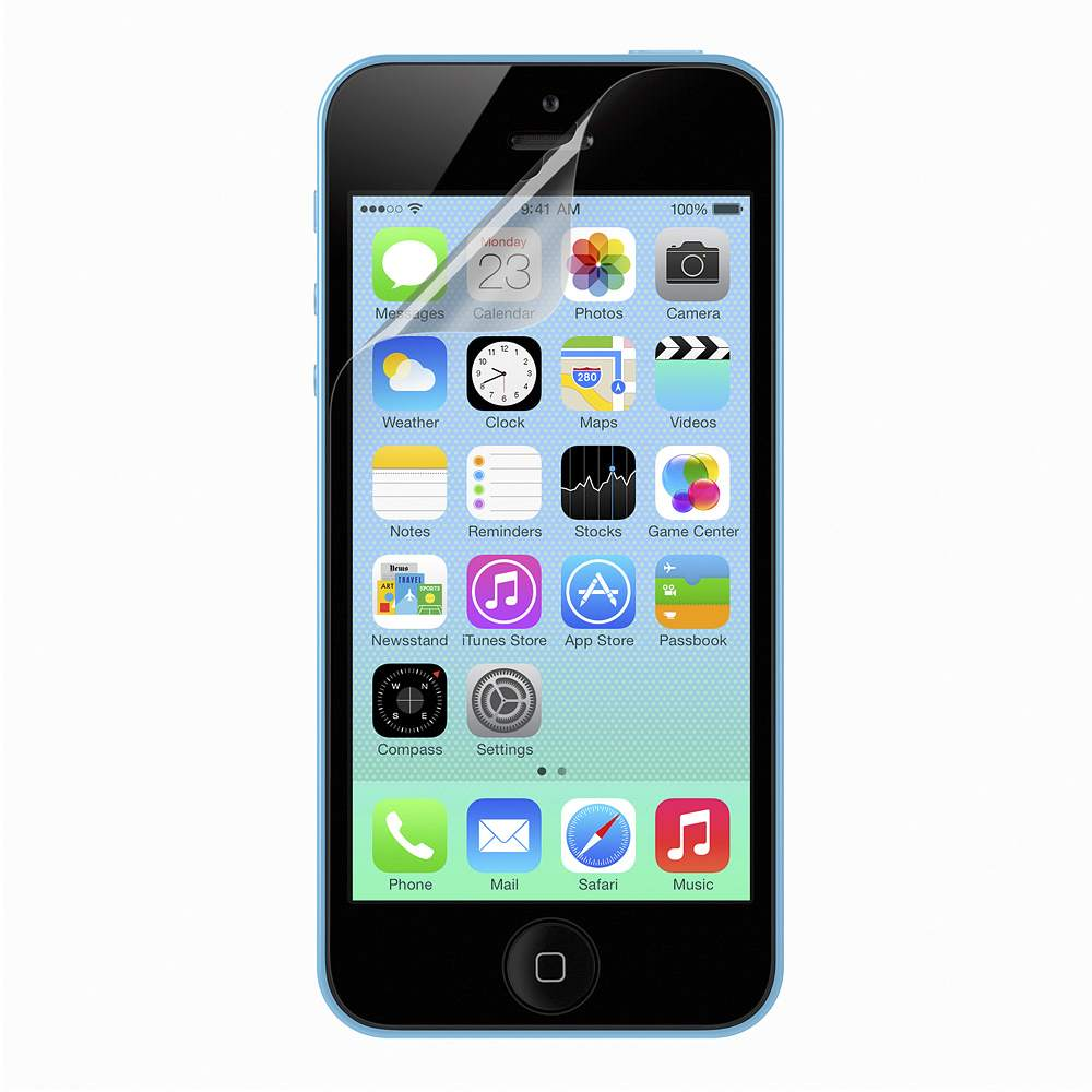 Transparent 螢幕保護貼– iPhone 5 專用 - FrontViewImage