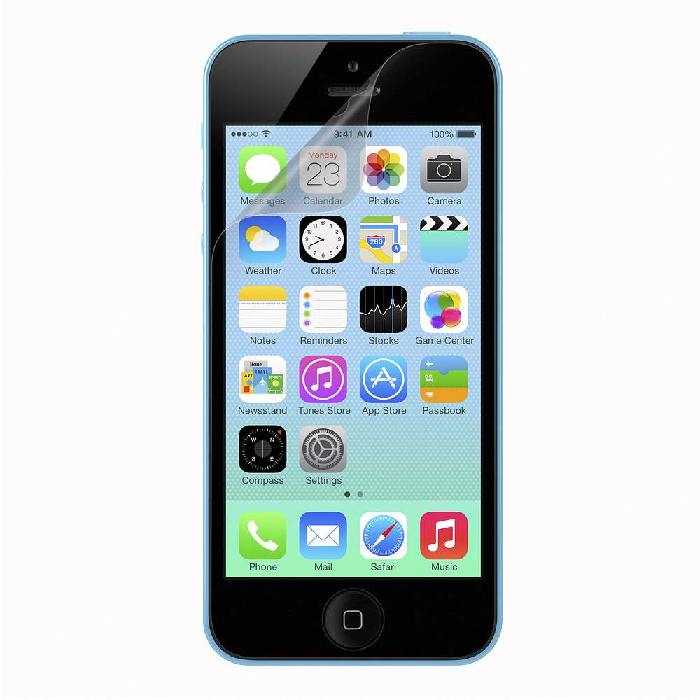 Anti-Smudge Screen Protector for iPhone 5 - FrontViewImage