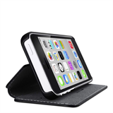 Wallet Folio with Stand Case for iPhone 5c -$ BackViewImage