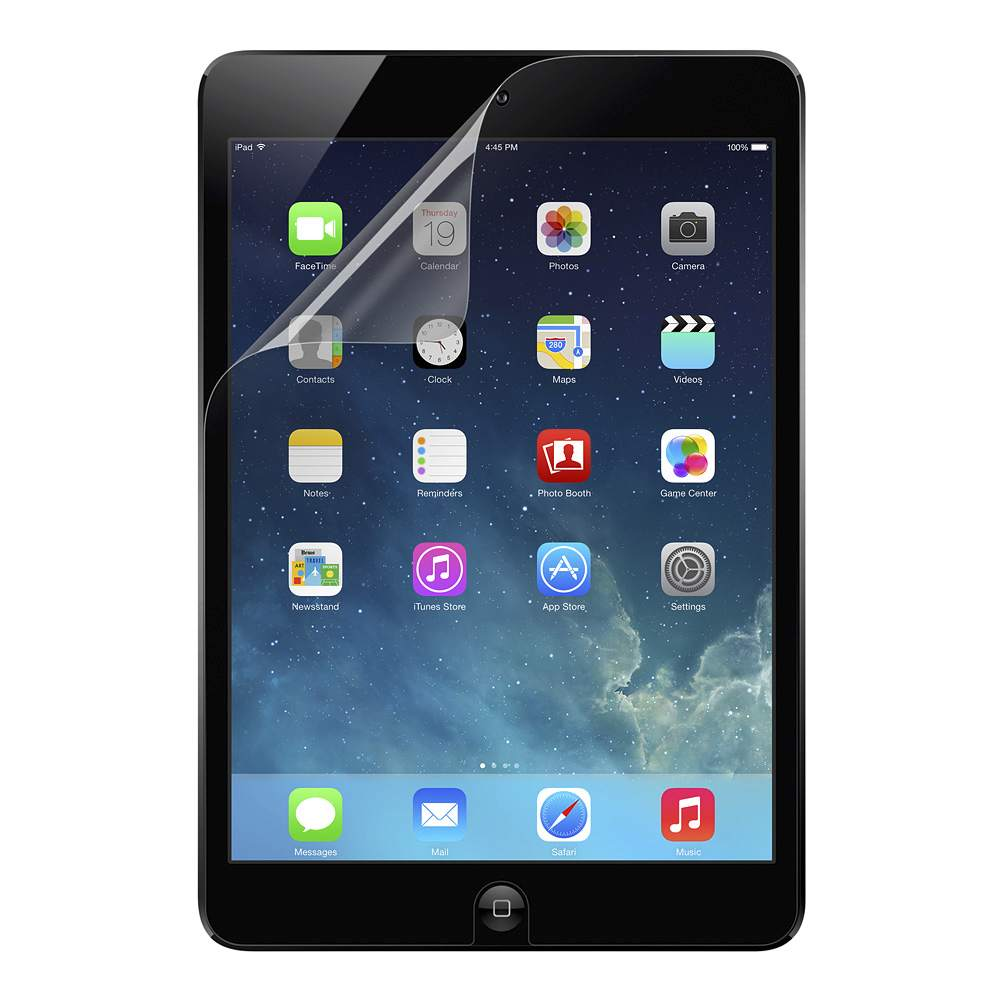 TrueClear Transparent Screen Protector for iPad mini 3, iPad mini 2, and iPad mini - HeroImage