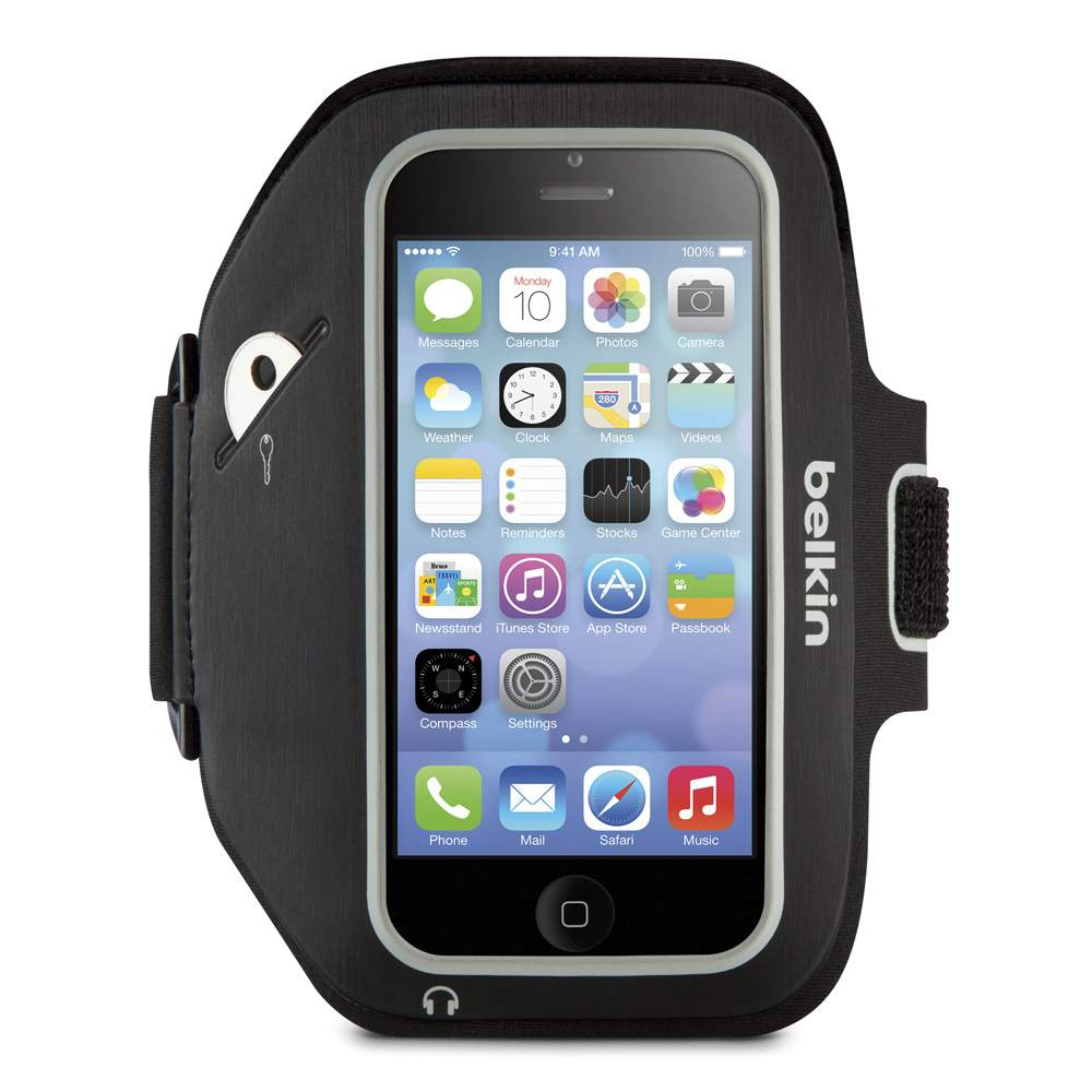 iPhone SE/5s/5c/5用 Sport-Fit Plus Armband - FrontViewImage