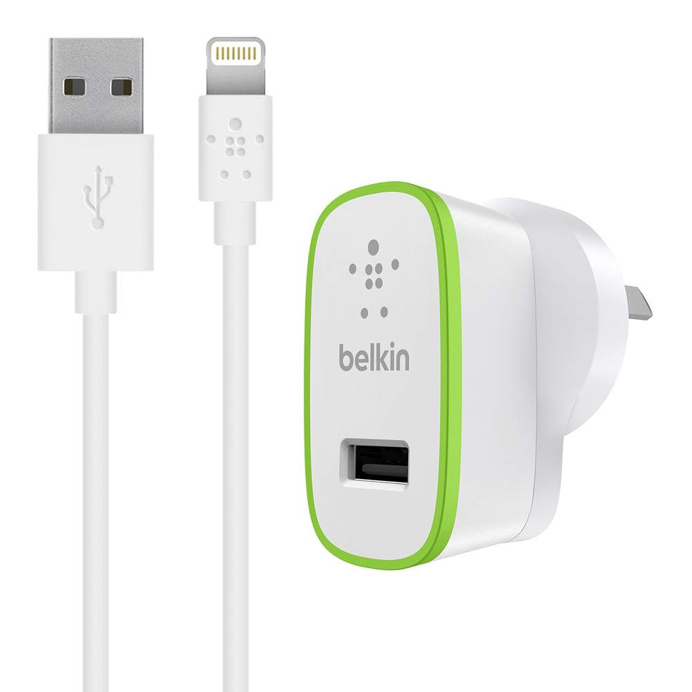 Boost Up 12W Wall Charger with Lightning Charge/Sync Cable - HeroImage