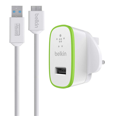 Home Charger with USB 3.0 Micro-B Cable (10 Watt/2.1 Amp) -$ HeroImage