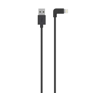 MIXIT↑™ 90° Lightning to USB Cable - Black -  HeroImage