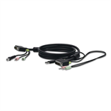 Cable de recambio KVM SOHO DVI -$ FrontViewImage