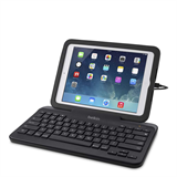 Wired Tablet Keyboard w/ Stand for iPad® (Lightning Connector) -$ FrontViewImage