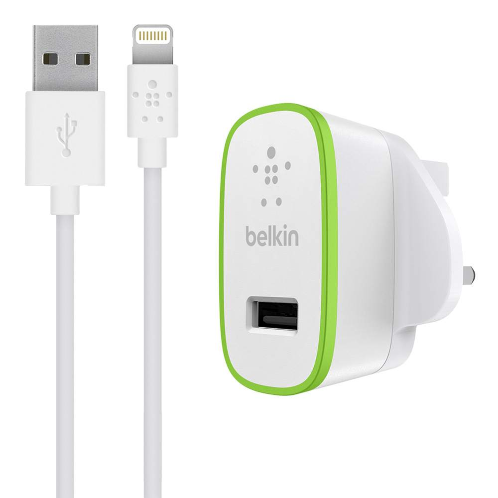 BOOST↑UP™ 12W USB-A Wall Charger + Lightning to USB-A Cable - HeroImage