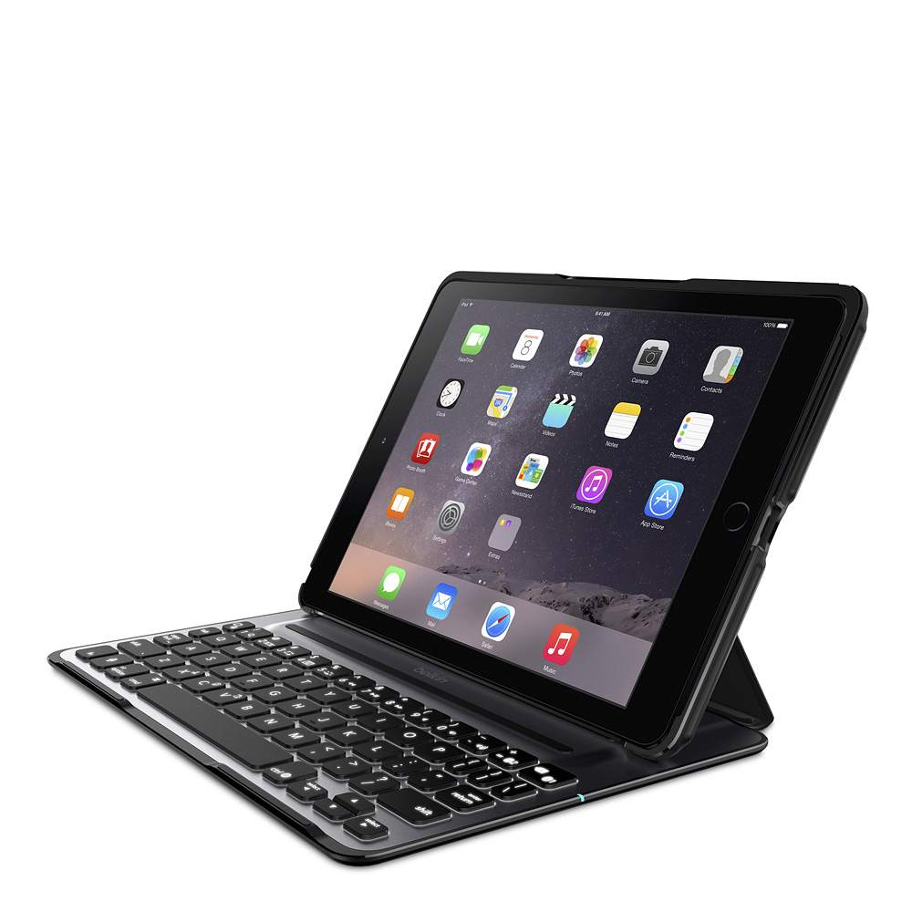 QODE™ Ultimate Pro Keyboard Case for iPad Air 2 (App enabled) - HeroImage