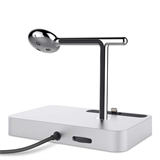 Valet™ Charge Dock for Apple Watch + iPhone -$ SideView1Image
