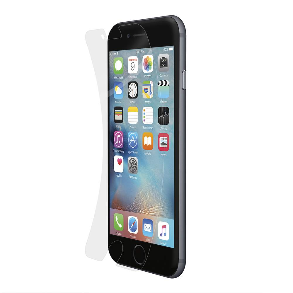 TrueClear™ Transparent Screen Protector for iPhone 6 and iPhone 6s - FrontViewImage