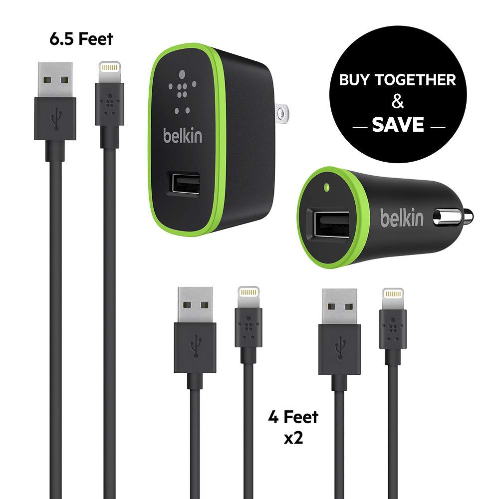 ee3ef488f3d Belkin iPhone Charging Bundle **Certified Refurbished -$ HeroImage