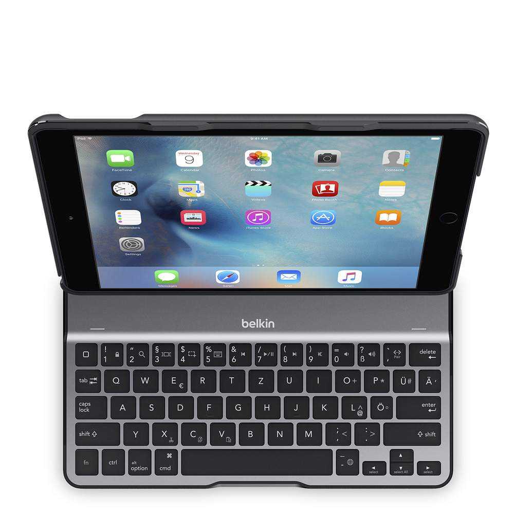 QODE™ Ultimate Lite Keyboard Case for iPad Air 2 - BackViewImage