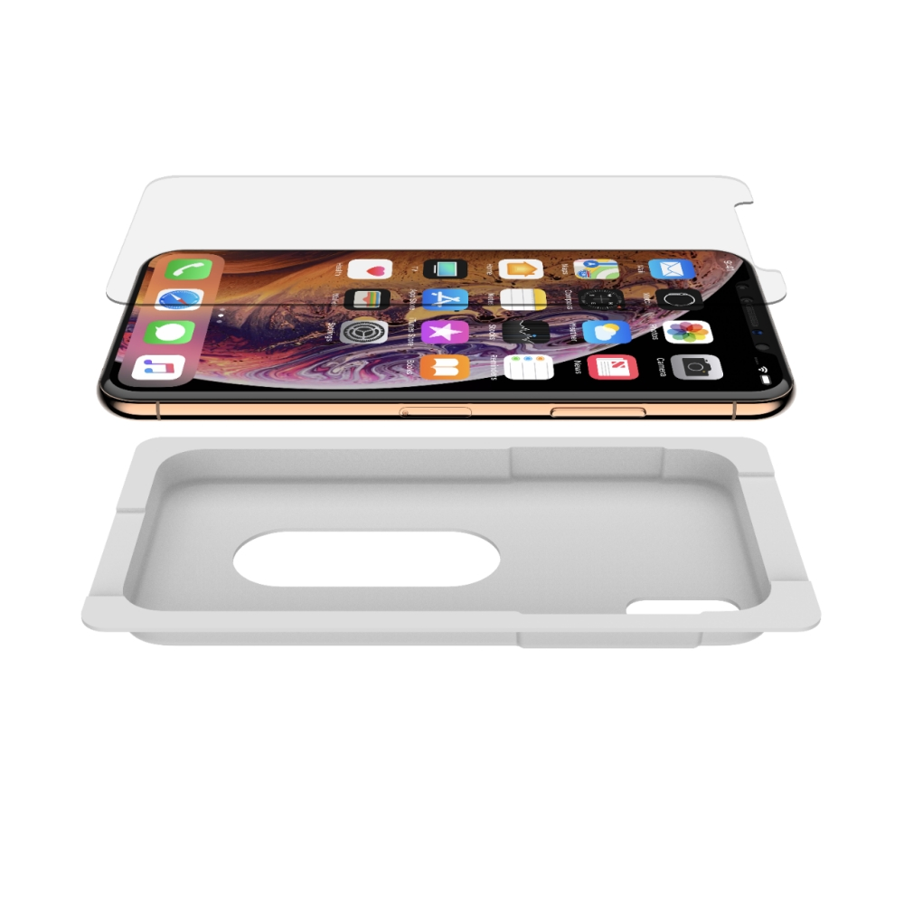 SCREENFORCE™ InvisiGlass™ Ultra Screen Protection for iPhone XS / X