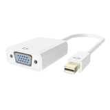 Mini DisplayPort™ to VGA Video Adapter, M/F, 1080p -$ SideView1Image