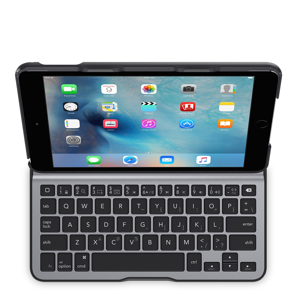 belkin ultimate lite tastatur mit h lle f r das ipad mini 4. Black Bedroom Furniture Sets. Home Design Ideas