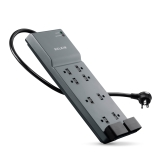 8-Outlet Home/Office Surge Protector with telephone protection, 6 ft. Cord -$ HeroImage
