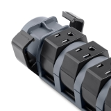 8-Outlet Pivot-Plug Surge Protector, 6 ft. Cord -$ FrontViewImage