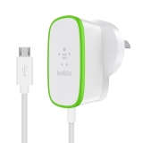 Home Charger with hardwired Micro-USB cable -$ SideView1Image