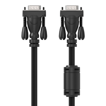 Coax High Resolution Monitor VGA Cable, HD15 M/M, 1080p -$ HeroImage