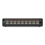 Belkin Secure DVI-I KVM Switch, 8-Port Dual-Head, with CAC -$ BackViewImage