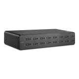 Belkin Secure DVI-I KVM Switch, 16-Port with CAC -$ SideView1Image