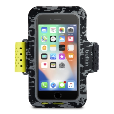 Brazalete deportivo Sport-Fit para iPhone 8 Plus, iPhone 7 Plus y iPhone 6/6s Plus -$ HeroImage