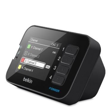 Belkin LCD Desktop-controller voor Secure KVM-switches -$ HeroImage