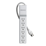 6-Outlet Home/Office Surge Protector, 4 ft. Cord -$ HeroImage