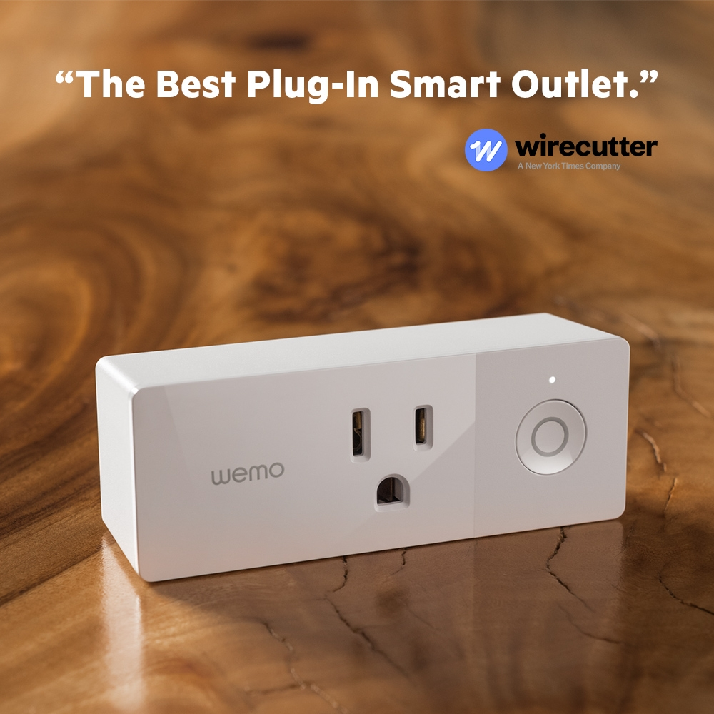 Wemo Mini Wifi Smart Plug Rated Electrical Box Designed To Be Used With A Range Receptacle Sideview1image