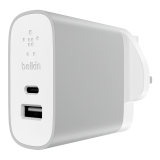 USB-C™ + USB-A Home Charger -$ FrontViewImage