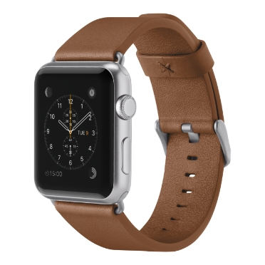 Classic Leather Band for Apple Watch (38mm/40mm) -$ HeroImage