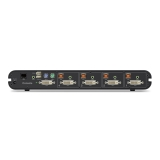 Belkin Secure DVI-I KVM Switch; 4-Port -$ SideView1Image