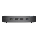 Belkin Secure Dual-Head DVI-I KVM Switch, 4-Port with CAC -$ HeroImage