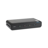 Belkin universele Secure KVM-switch, 4 poorten, dual-head -$ SideView1Image
