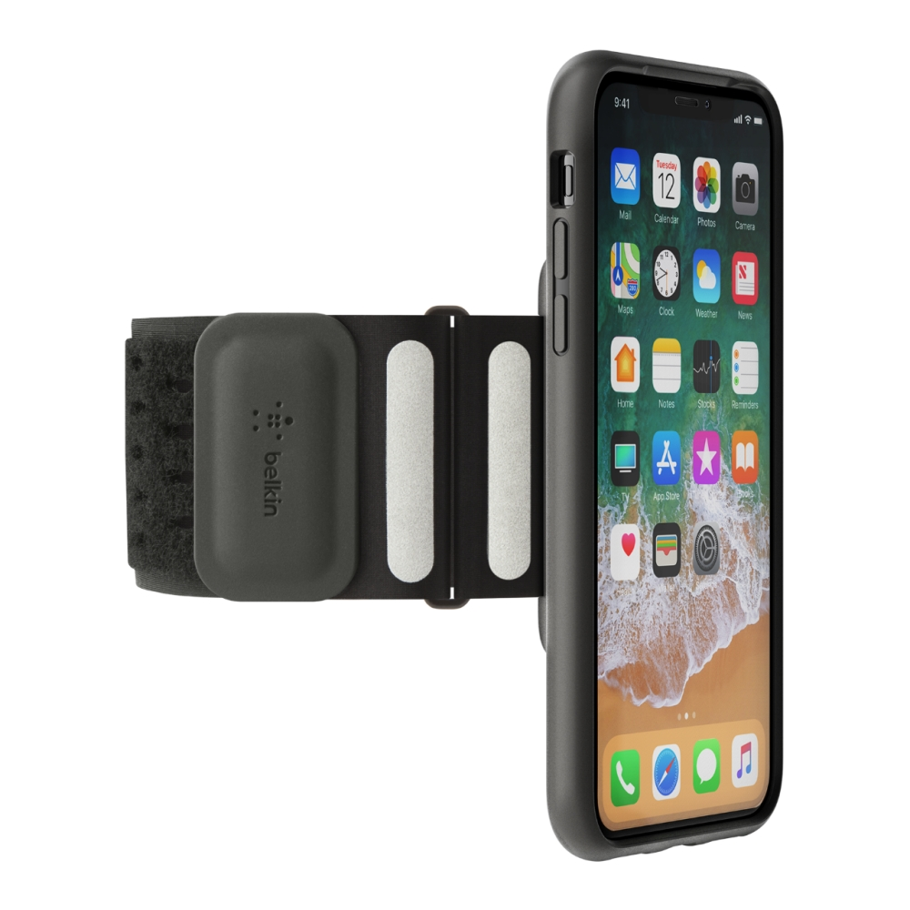 fitness armband f r das iphone x belkin. Black Bedroom Furniture Sets. Home Design Ideas