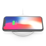 BOOST↑UP™ Bold Wireless Charging Pad 10W for Apple, Samsung, LG and Sony -$ SideView1Image