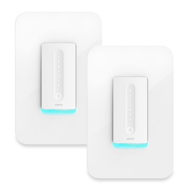 Wemo WiFi Smart Dimmer Switch (2-Pack)