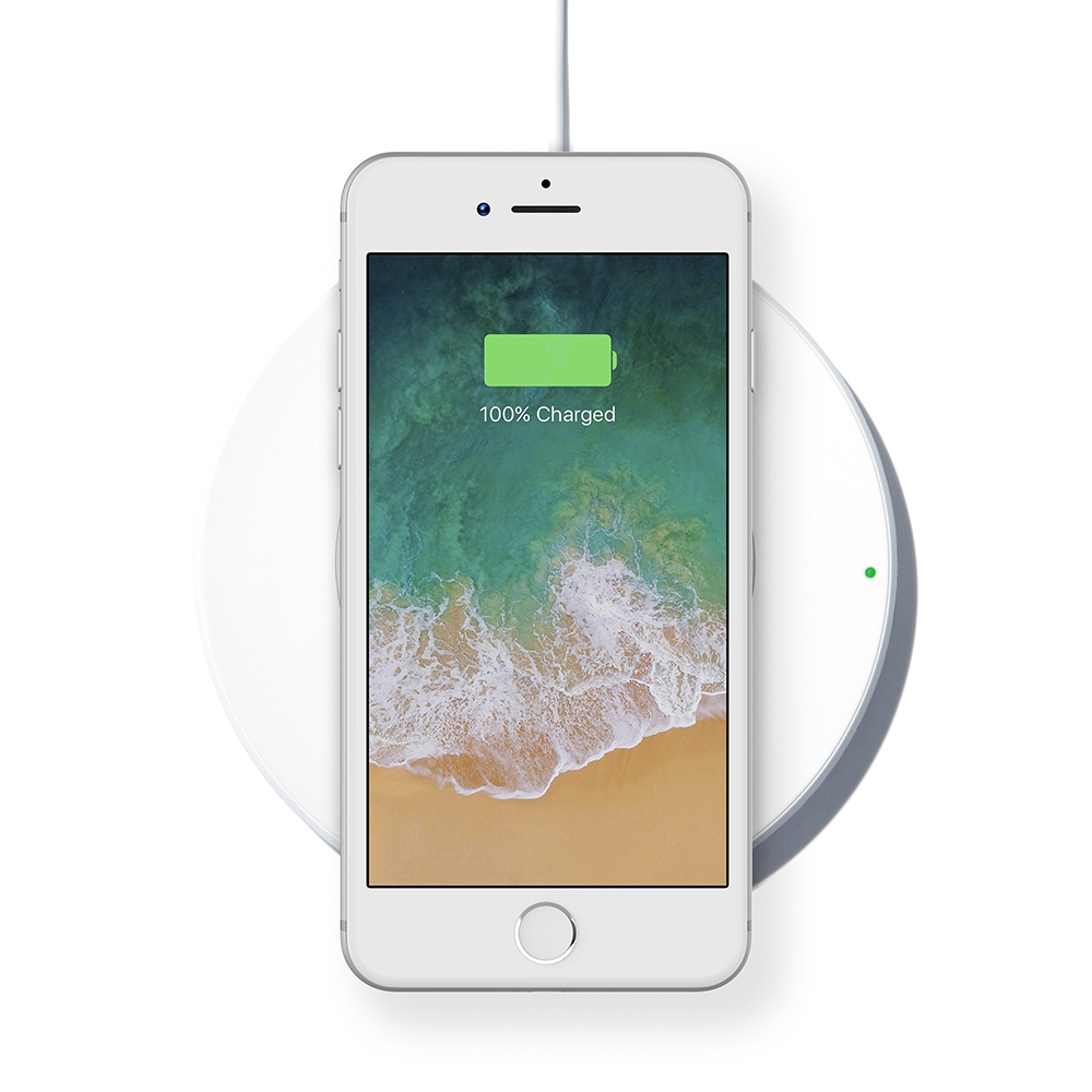 Wireless Charging Pad 7 5W for iPhone 8, 8 Plus, X & More