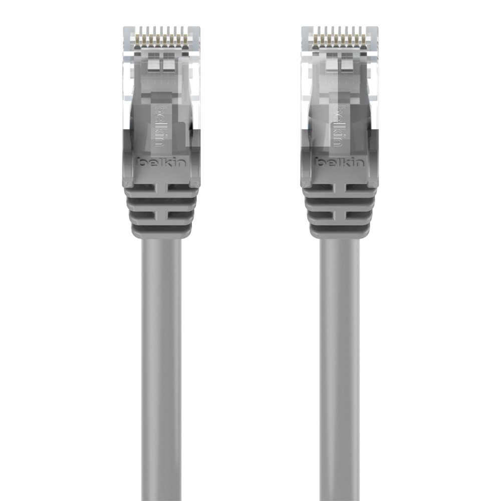 Cat5e Ethernet Patch Cable Snagless Rj45 M Wiring On Home Cables 30m Grey Topviewimage