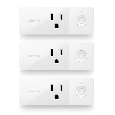 Wemo Mini Smart Plug Bundle 3-Pack -$ HeroImage