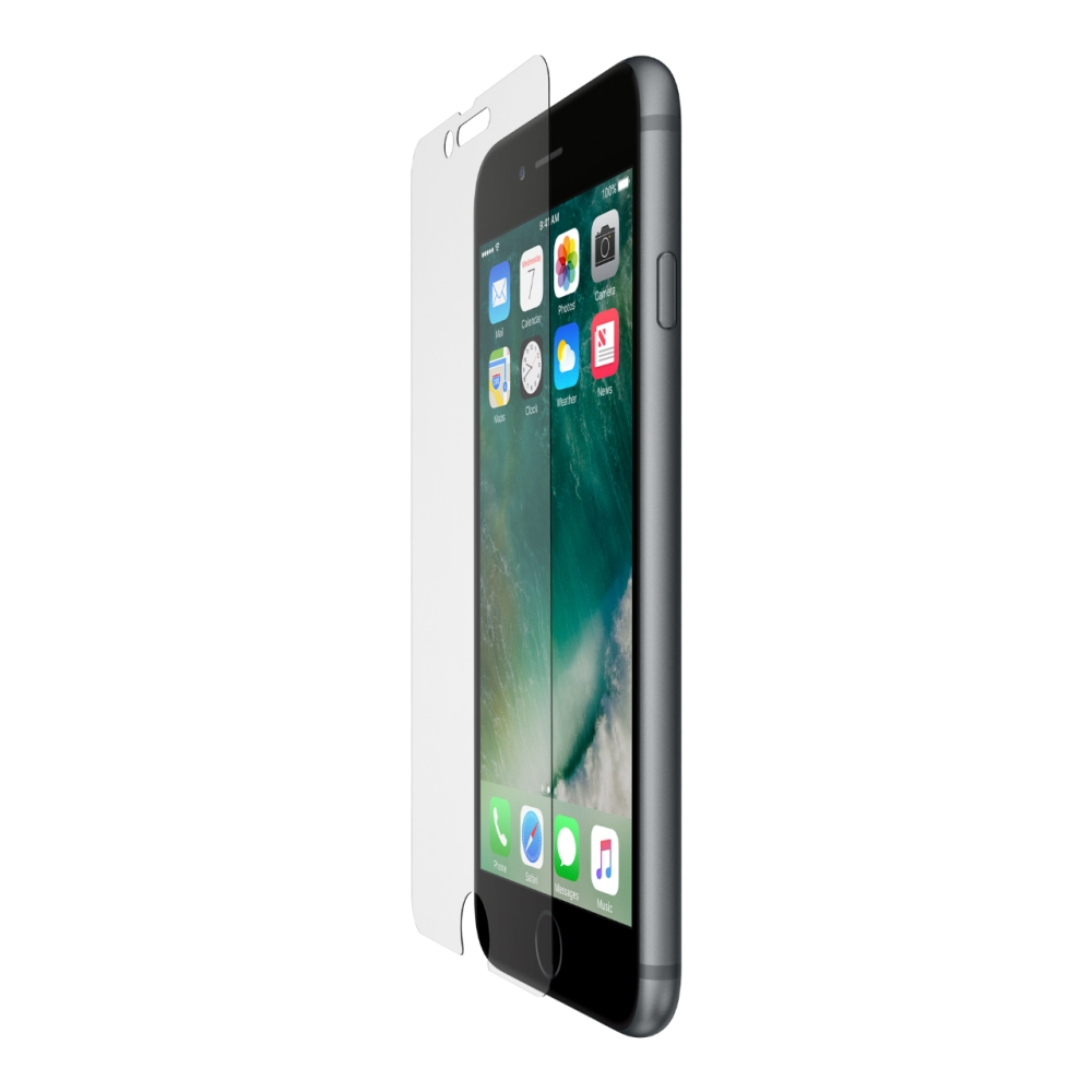 Protection d'écran ScreenForce® InvisiGlass™ Ultra pour iPhone 6 Plus et iPhone 6s Plus - HeroImage