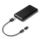 Pocket Power 5K + USB-C/Micro-USB-adapter -$ SideView1Image