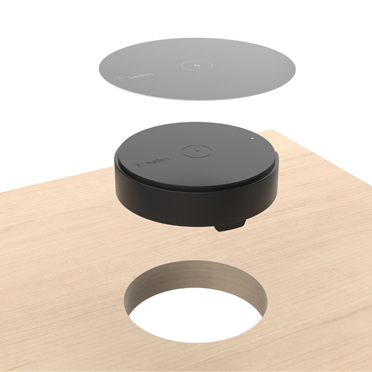 QI™ WIRELESS CHARGING ANYWHERE