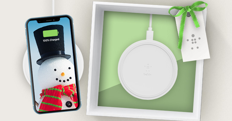 HOLIDAYS ARE <br>BETTER WITH BELKIN